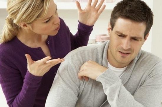 مشاجرة بين الزوج والزوجة