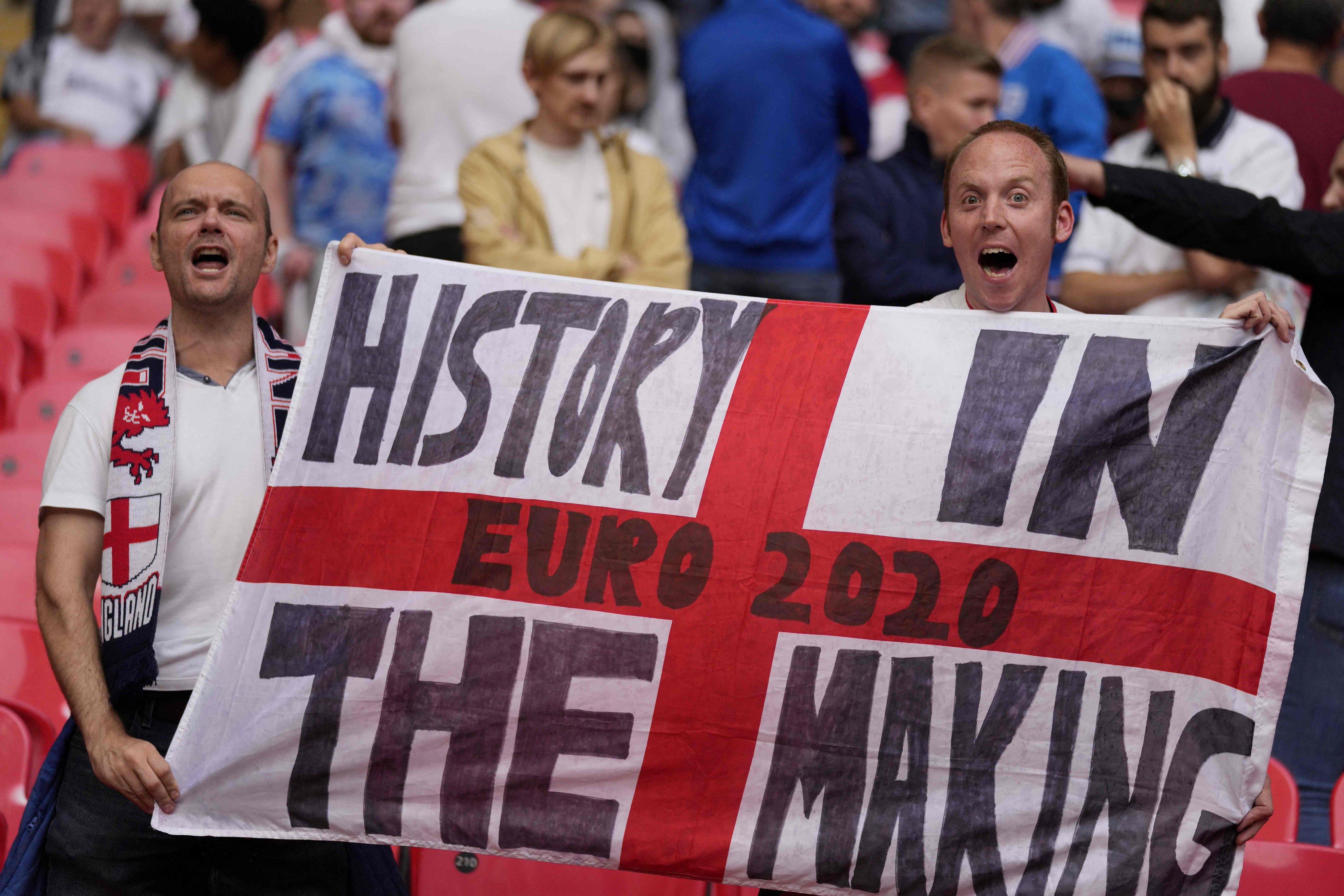جماهير إنجلترا