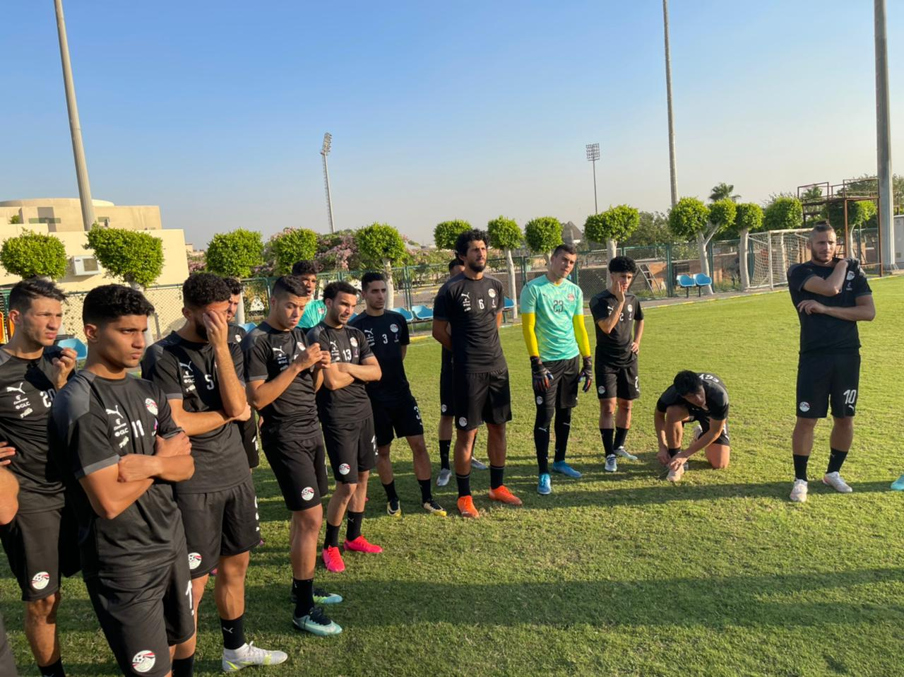 تدريب منتخب مصر الاوليمبي