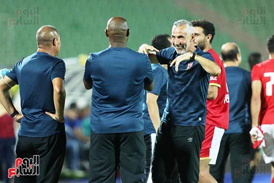 مباراة الأهلي والمقاصة (1)
