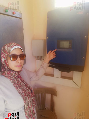 المهندسة-سارة-ناجي-المشرف-على-المحطة