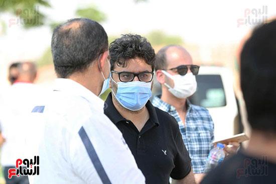 جنازة شقيق رامى صبرى (4)