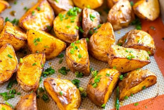 البطاطس في الفرن