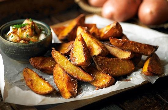 طريقة عمل البطاطس المقلية (6)