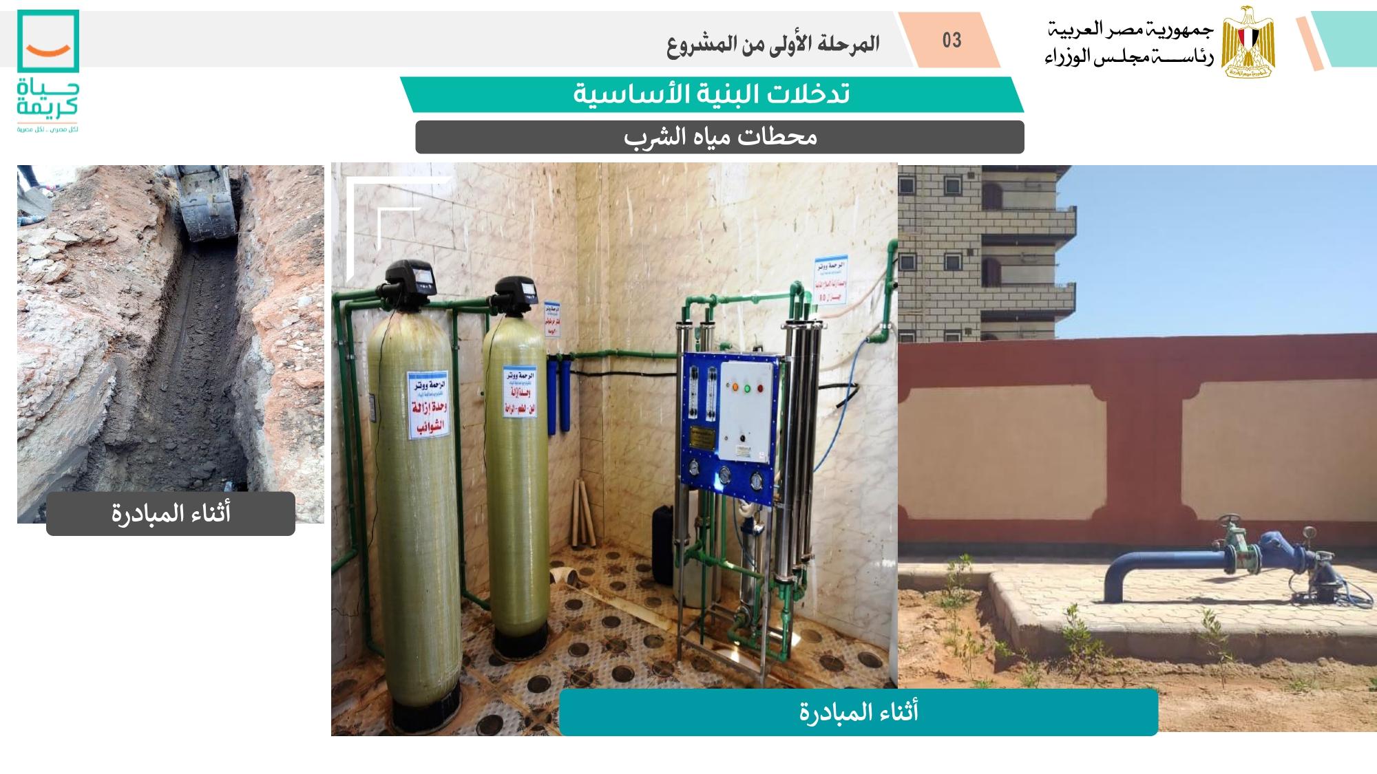 محطات مياه الشرب