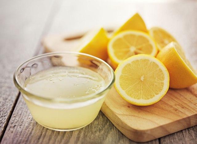 عصير الليمون لحرق الدهون