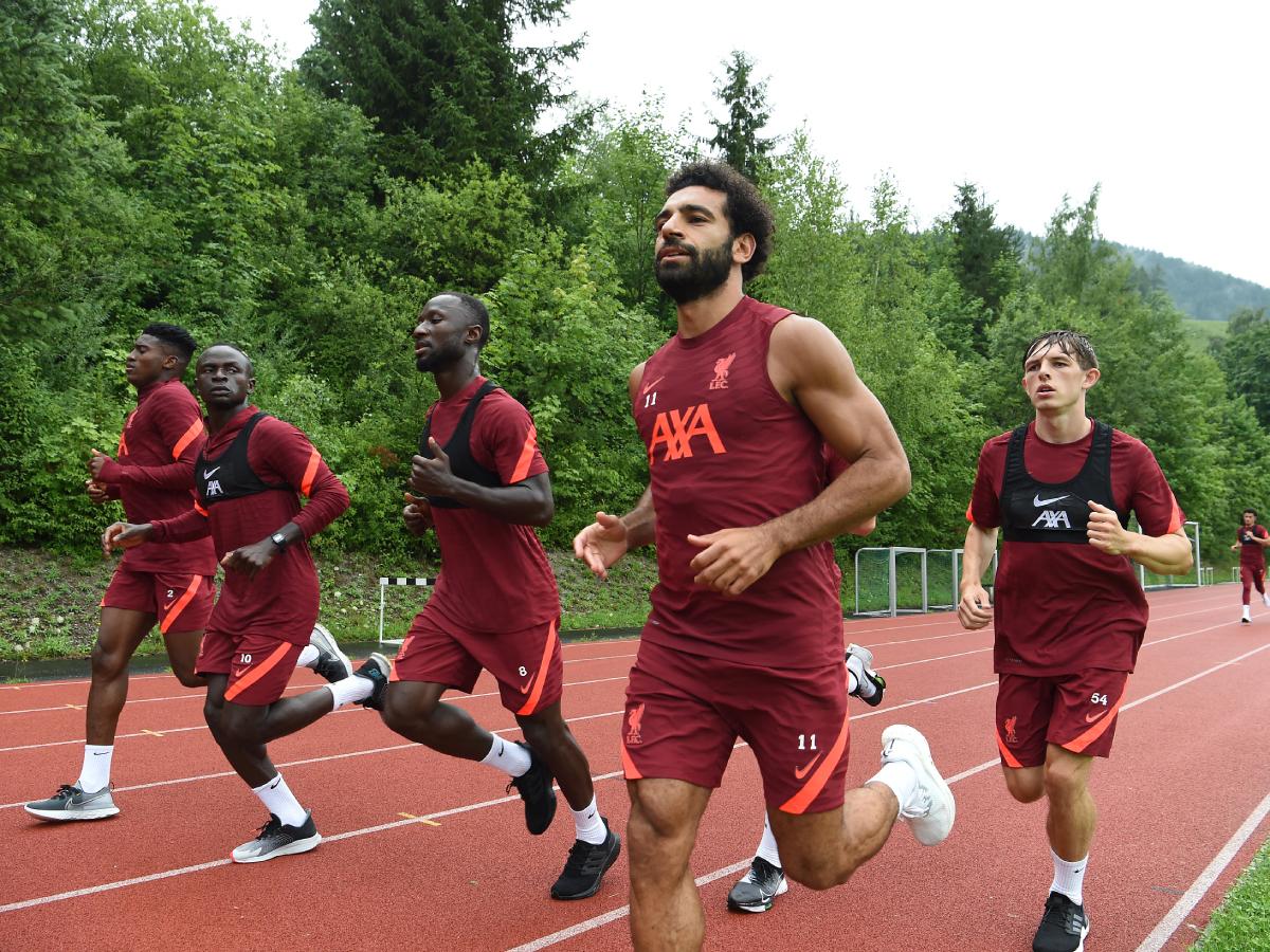 محمد صلاح في تدريبات ليفربول (7)