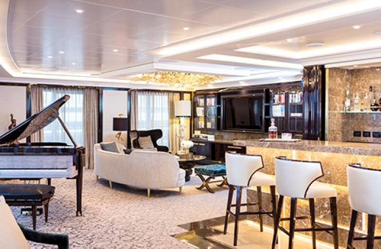 غرفة خاصة على السفينة