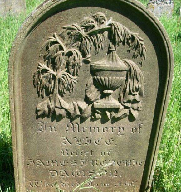 نماذج من تصوير القبور