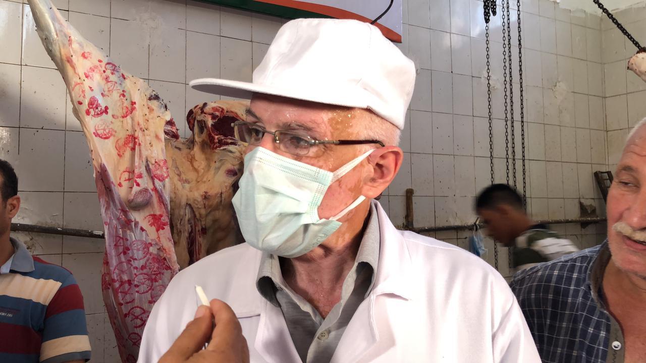 الدكتور حاتم انور مدير مديرية الطب البيطرى بالغربية