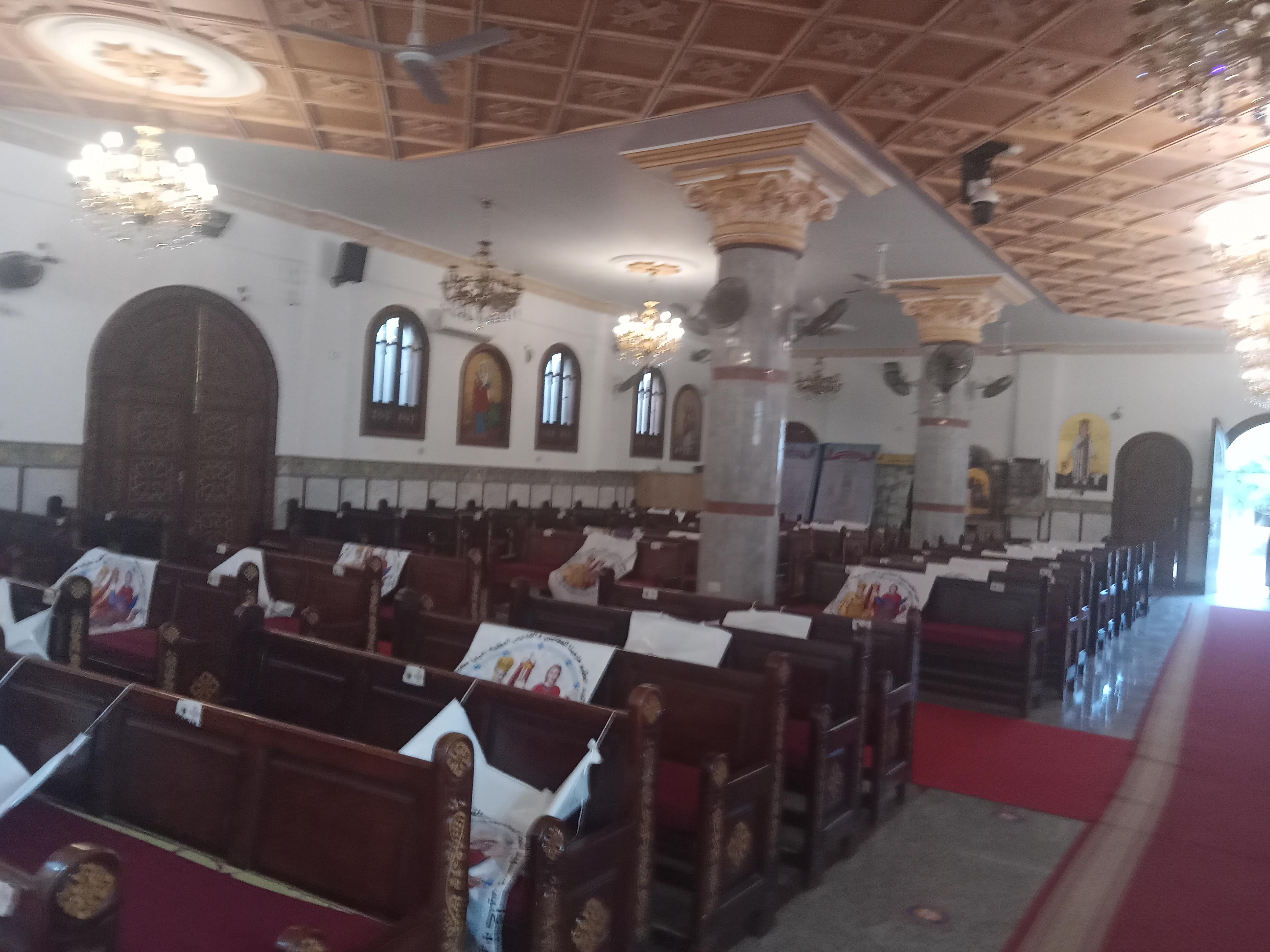 كنيسة الشهيد مارمينا والقديس البابا كيرلس السادس بكفر الشيخ