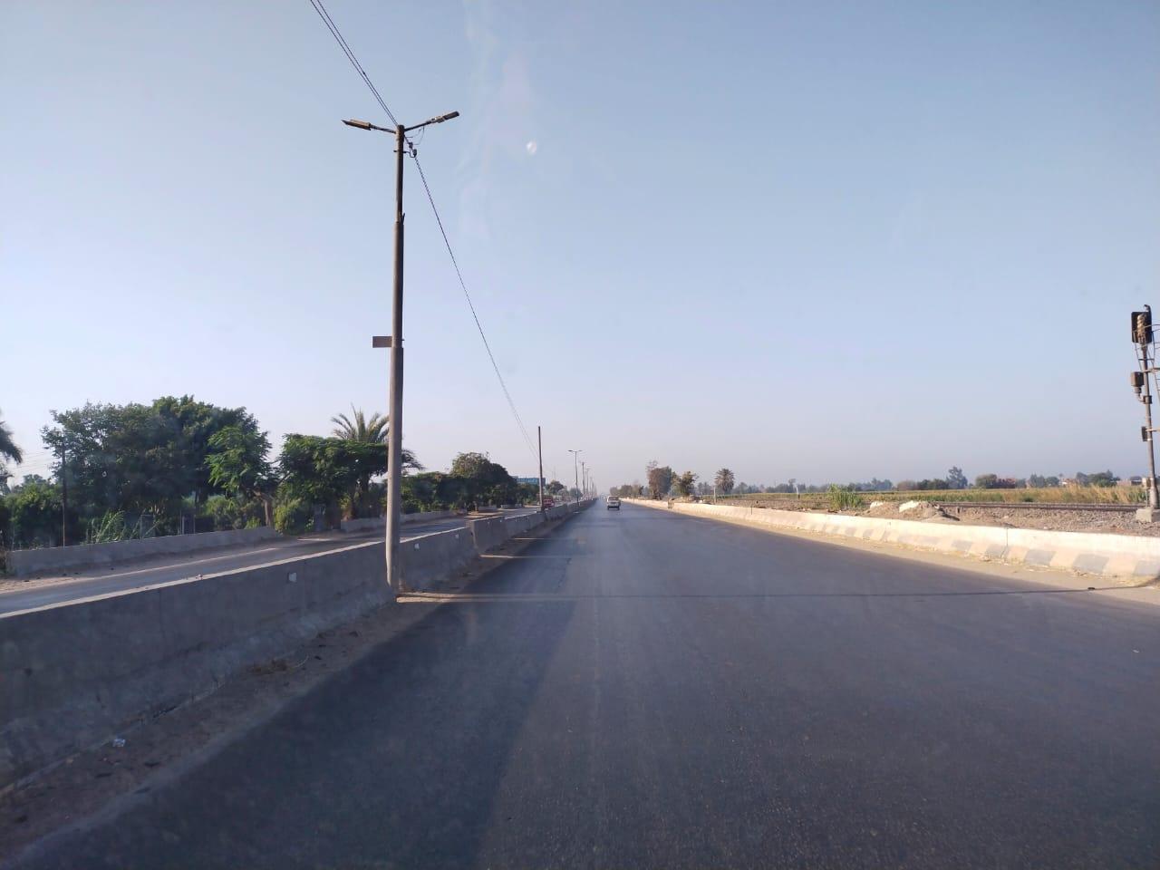سيولة مرورية بطريق القاهرة الإسكندرية الزراعى (3)