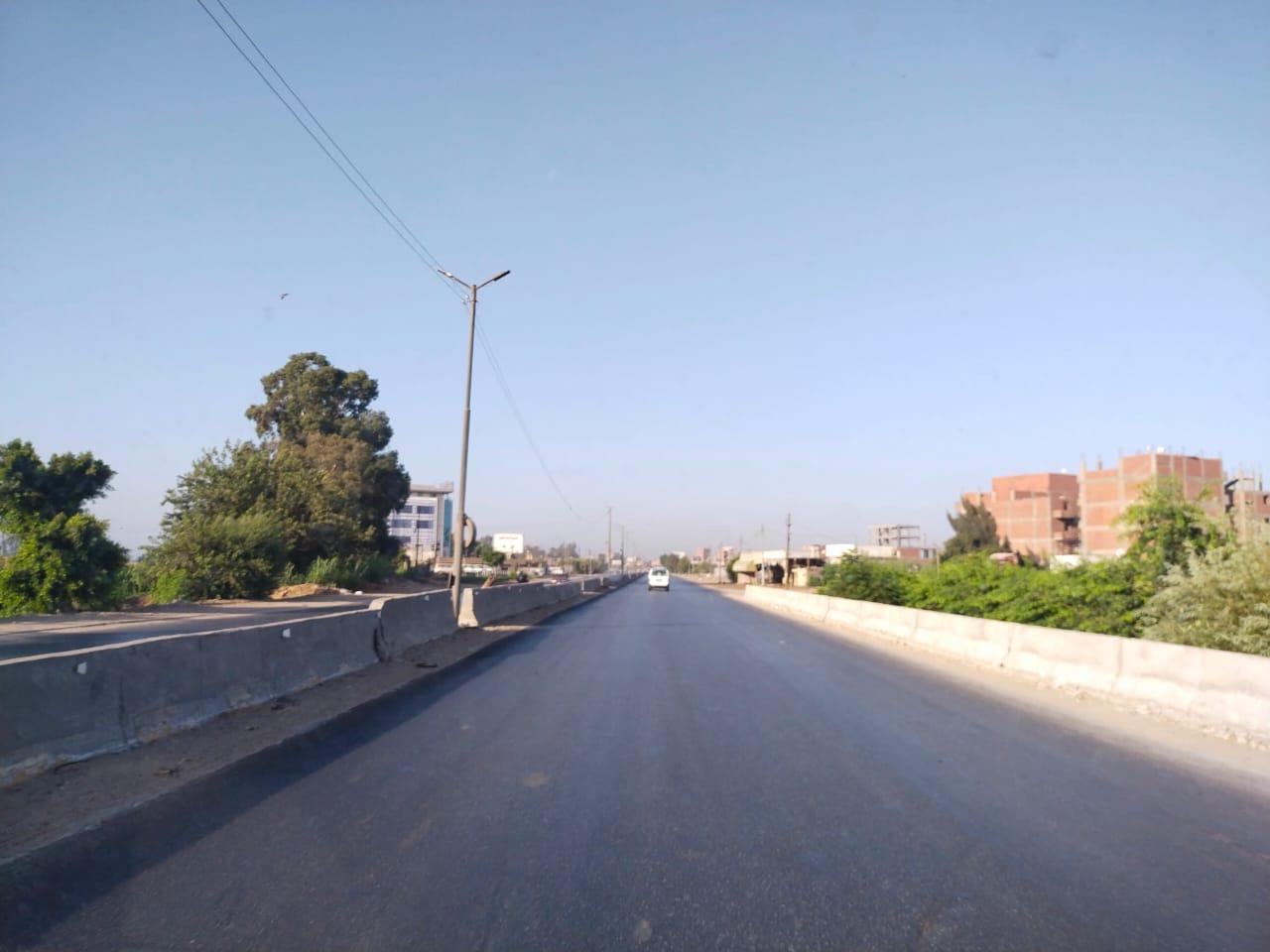 سيولة مرورية بطريق القاهرة الإسكندرية الزراعى (4)