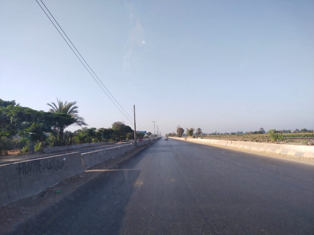 سيولة مرورية بطريق القاهرة الإسكندرية الزراعى (2)