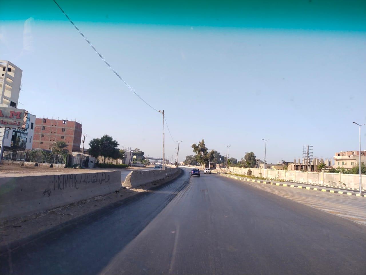 سيولة مرورية بطريق القاهرة الإسكندرية الزراعى (8)