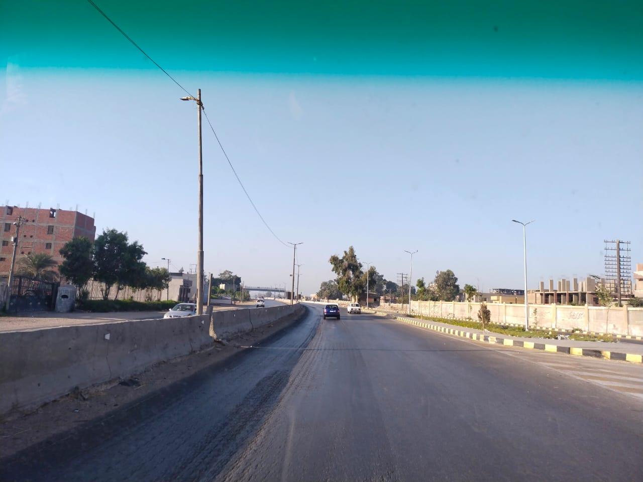 سيولة مرورية بطريق القاهرة الإسكندرية الزراعى (7)