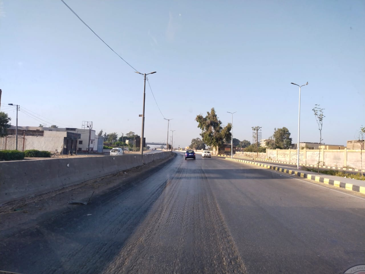 سيولة مرورية بطريق القاهرة الإسكندرية الزراعى (5)