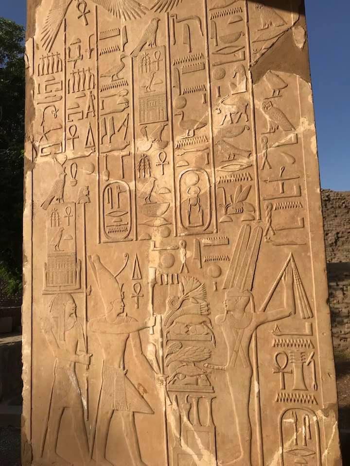 لوحات ترصد تاريخ الحضارة المصرية القديمة