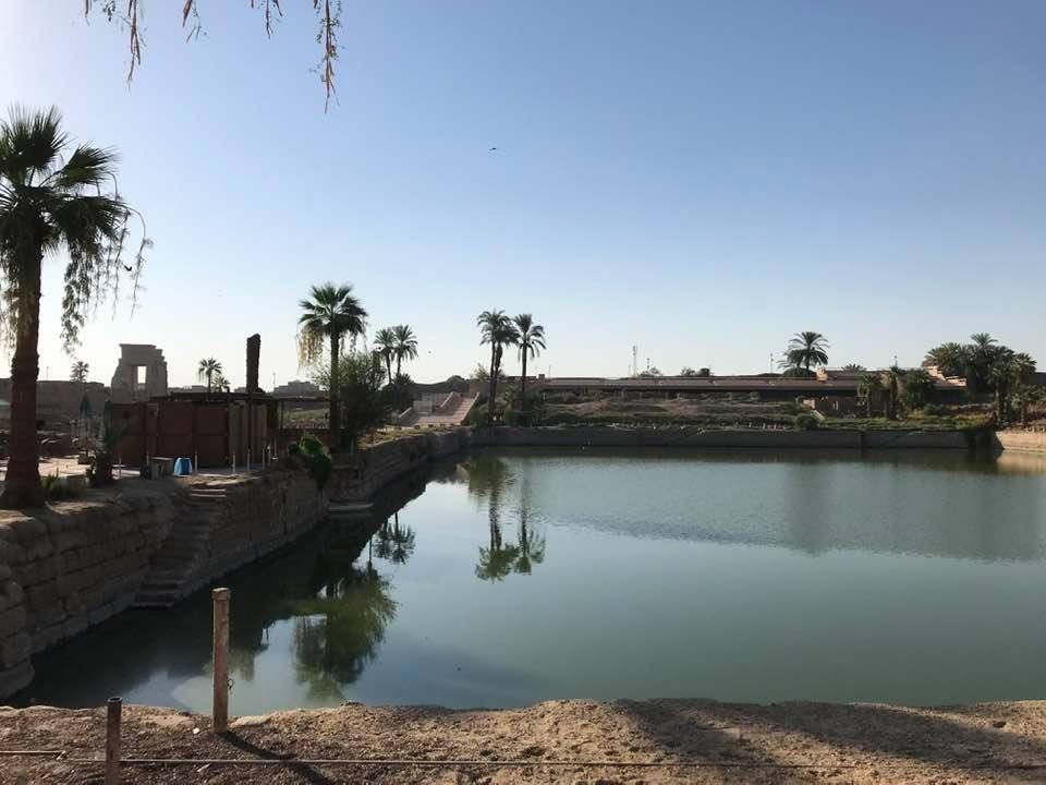 البحيرة المقدسة أحد أسرار معابد الكرنك