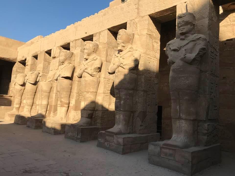 سحر وجمال التاريخ الفرعوني بالكرنك