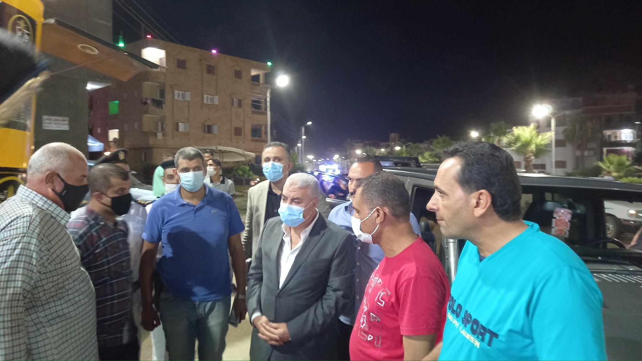 جولات ليلية لمدير امن كفر الشيخ