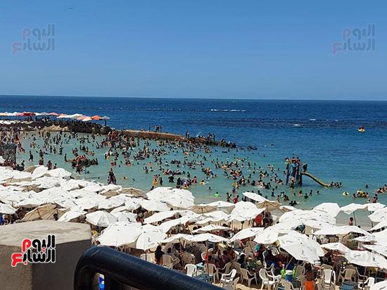 الإقبال-على-شواطئ-الإسكندرية