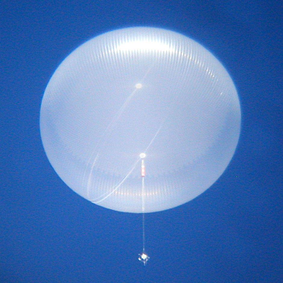 استخدام منطاد لإطلاق تلسكوب فضائى كبير (1)