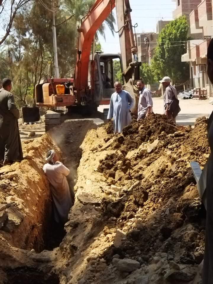 مشروعات الصرف الصحى فى الأقصر