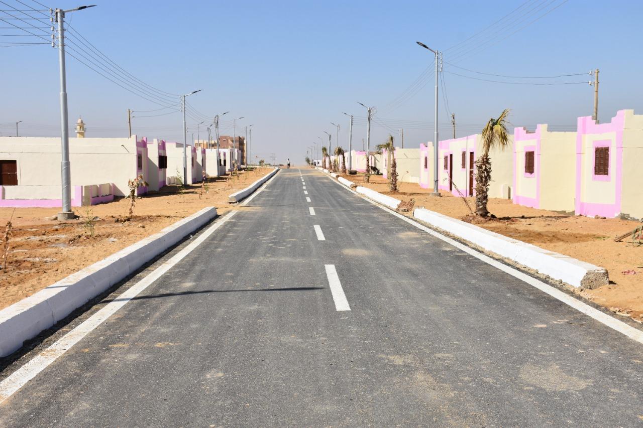 رصف الطرق الداخلية فى القرى
