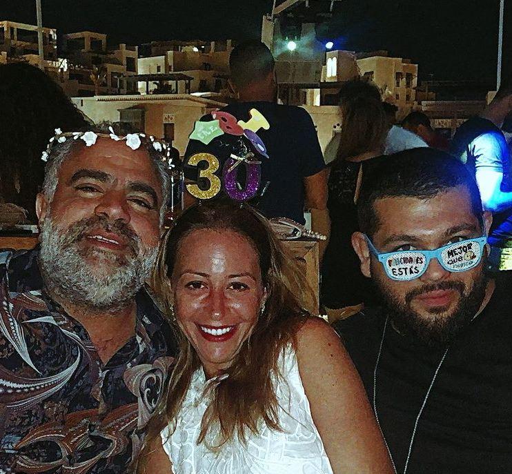 منة شلبي ومحمد ومودي شاهين