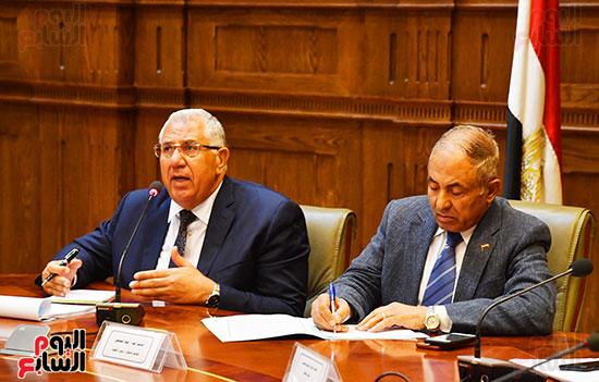 اجتماع لجنة الدفاع والأمن القومي (6)