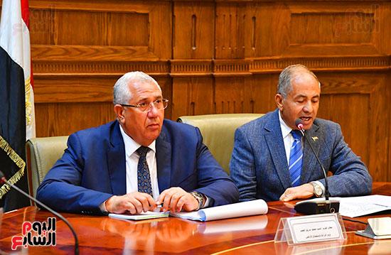 اجتماع لجنة الدفاع والأمن القومي (1)