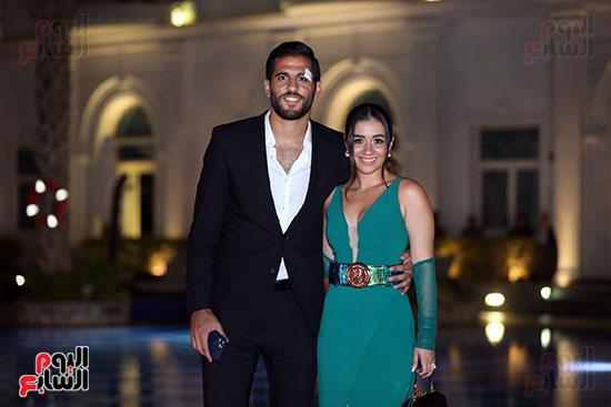 مروان محسن وزوجته (4)