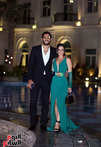 مروان محسن وزوجته (2)