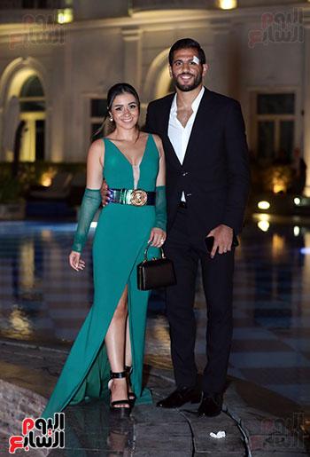 مروان محسن وزوجته (3)