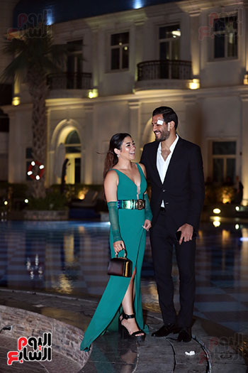 مروان محسن وزوجته (1)