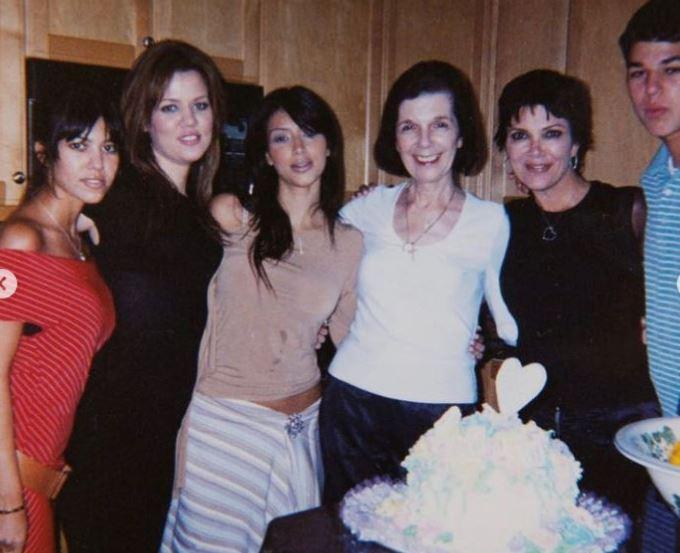 كيم وعائلتها