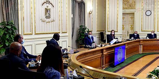 رئيس الوزراء يلتقى الرئيس التنفيذى لمؤسسة التمويل الأفريقية (3)
