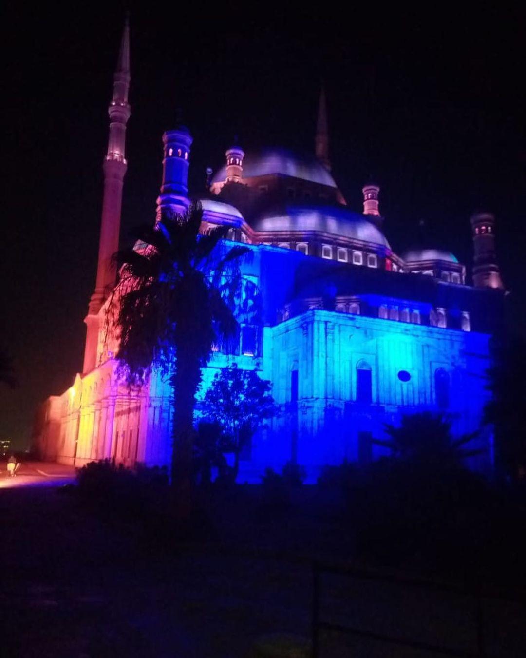 إضاءة قلعة محمد على