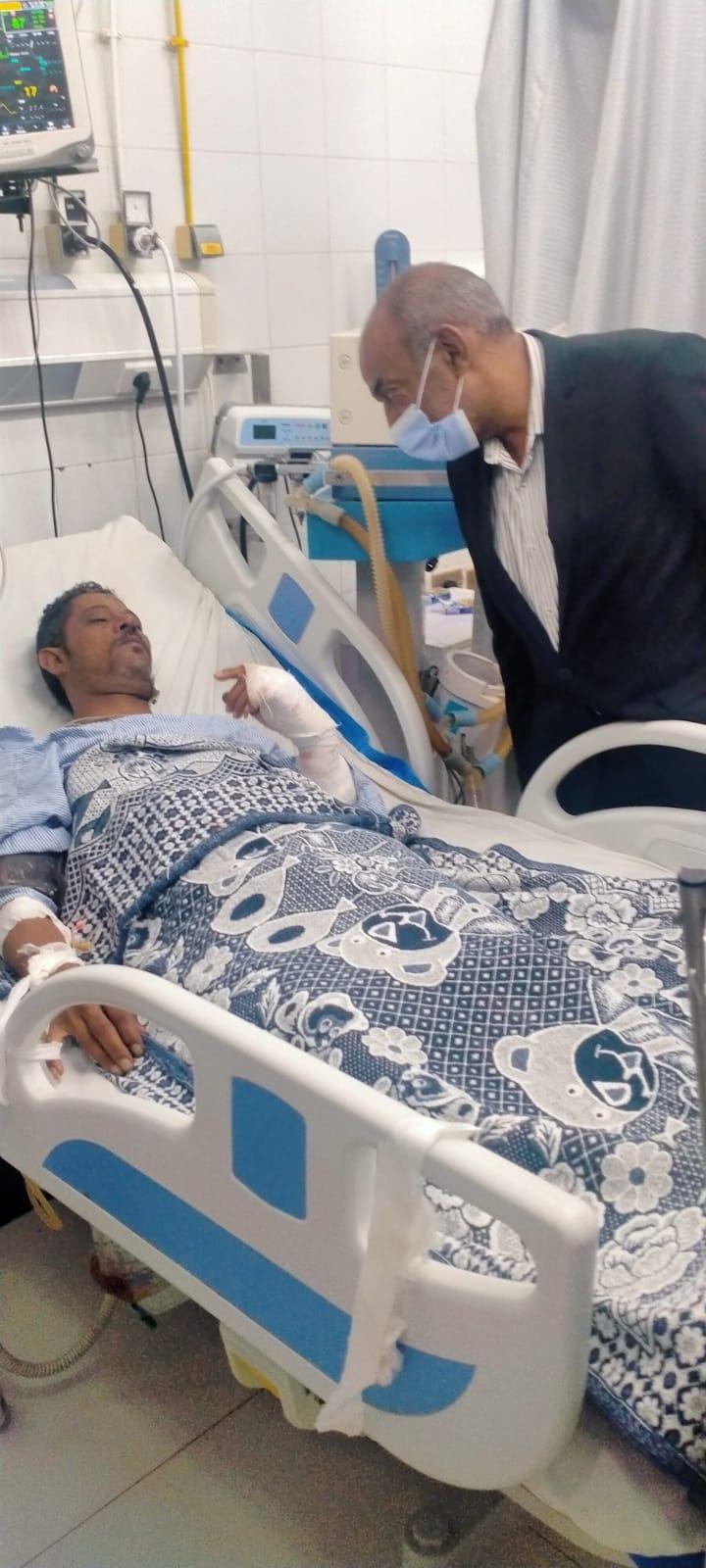 العميد عمرو فكرى رئيس مجلس مدينة ميت غمر