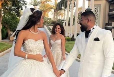 حفل زفاف شقيقة رنا