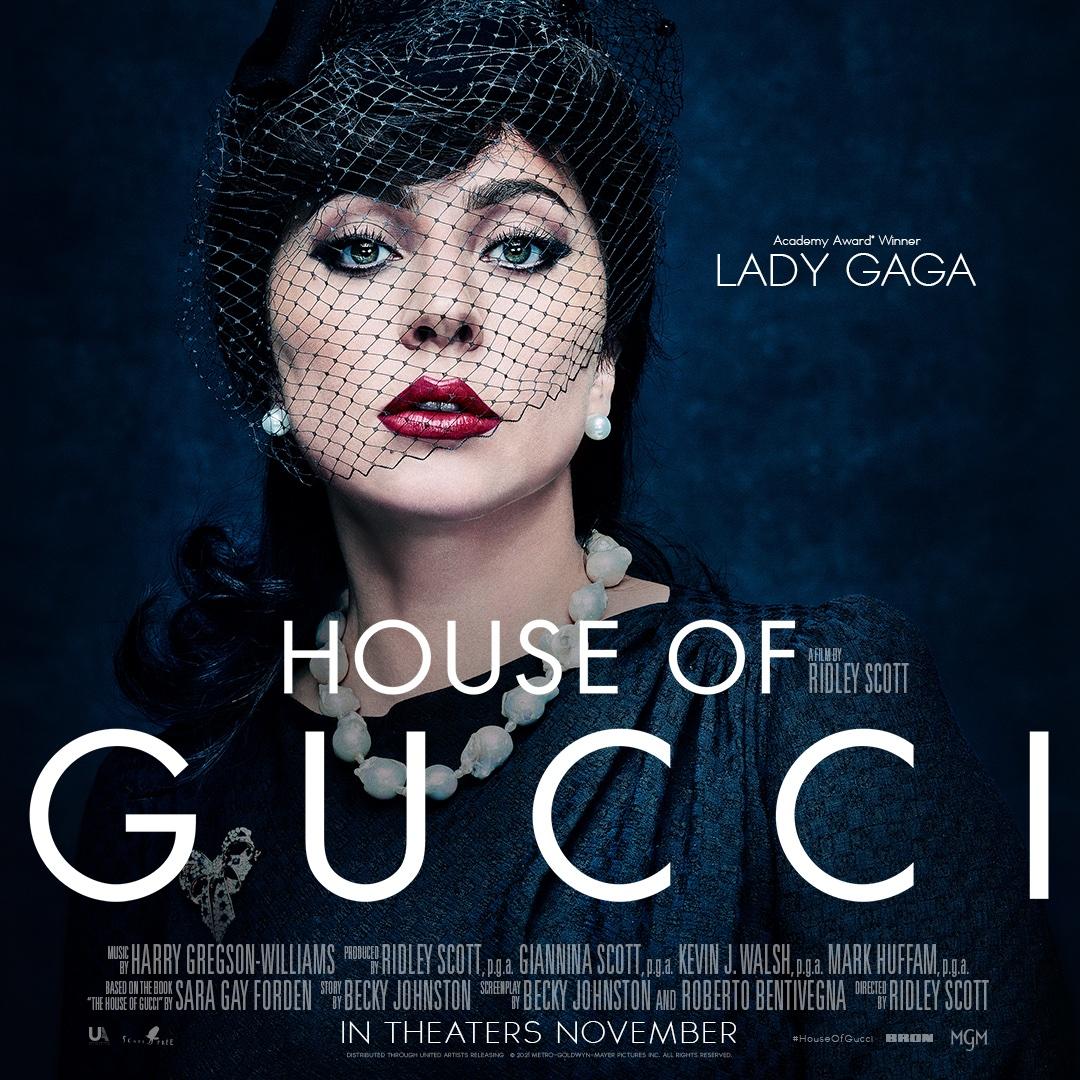 ليدي جاجا فى البوستر الرسمي للفيلم