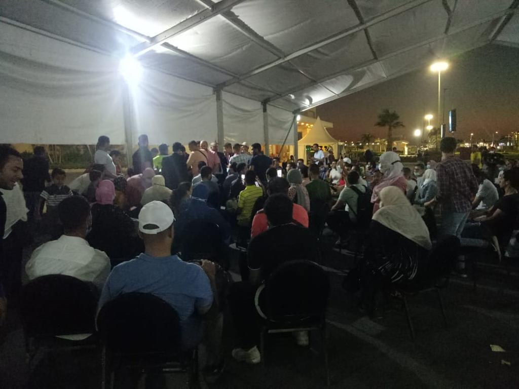 خلال تجمع جمهور الداعية  (1)