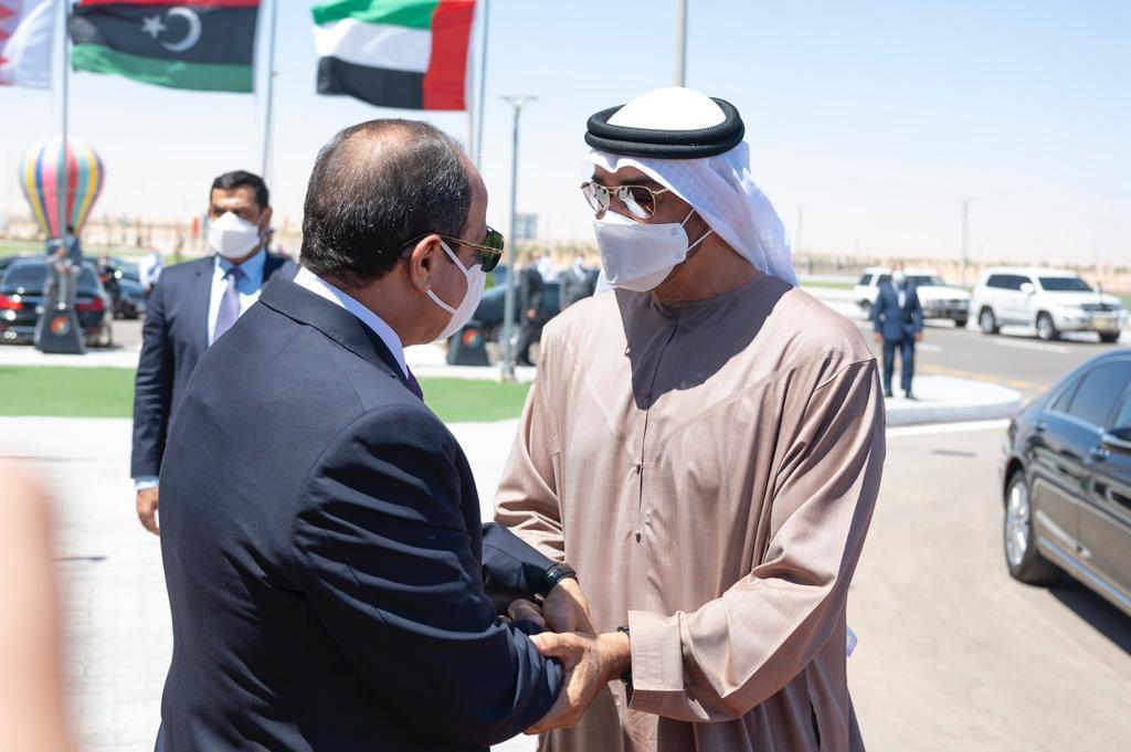 الرئيس السيسى وولى عهد ابو ظبى