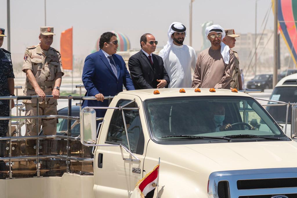 الرئيس السيسى وضيوف مصر يشاركون فى الحفل