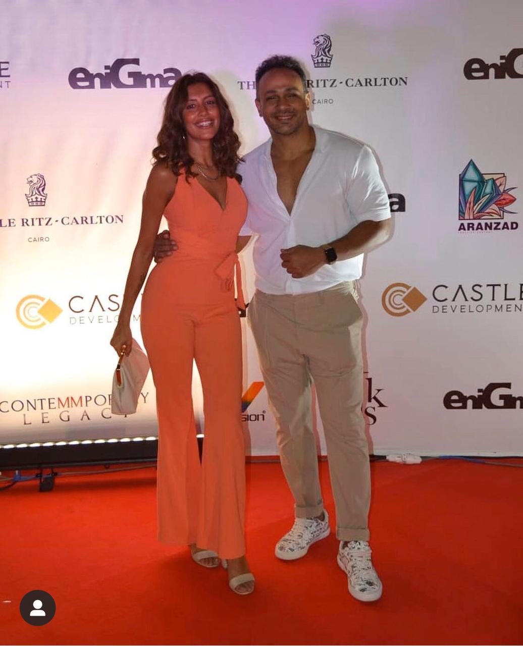 Mohamed Attia and Mirna El Helbawy