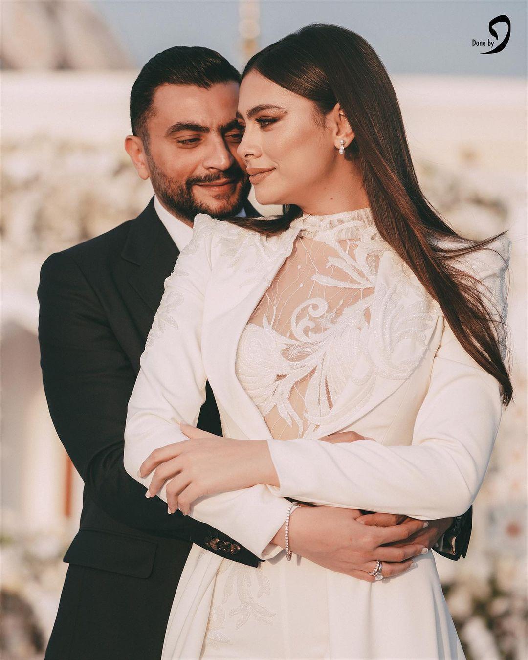 هاجر احمد وزوجها احمد الحداد