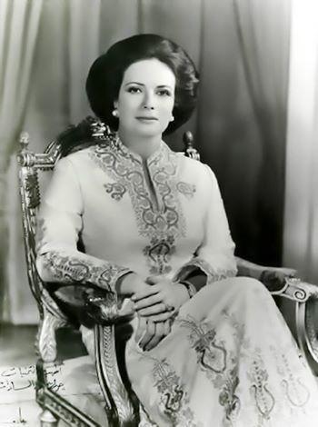 السيدة جيهان السادات