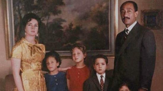 أسرة جيهان السادات
