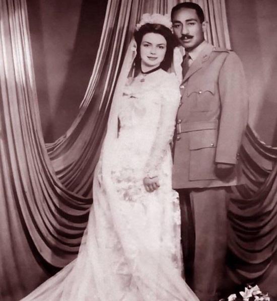 زفاف جيهان السادات